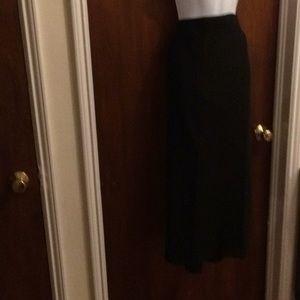 Dick and Jayne wool dark grey wrap around skirt M